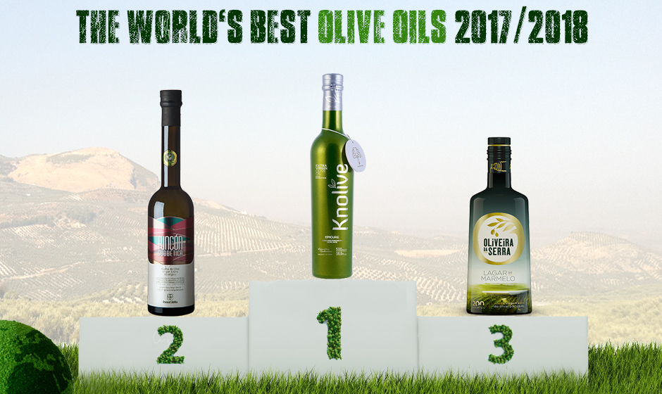World's Best Olive Oils 2017/2018 | The Extra Virgin Olive