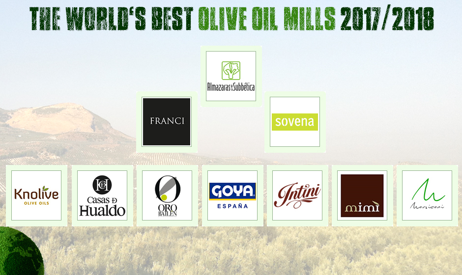World's Best Olive Oils | The Olive Oil Mill Ranking 2017/2018