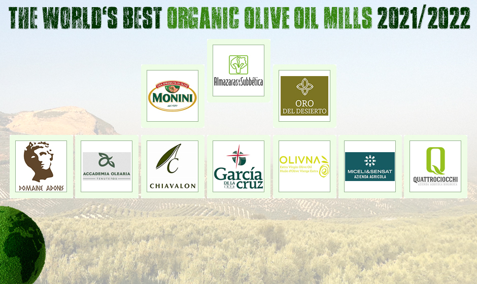 World's Best Organic Olive Oil Mills